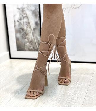 Anna heels - nude