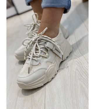 Chuncky sneakers - beige