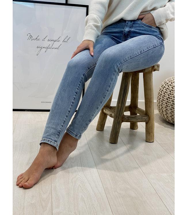 Skinny jeans - acid wash classic