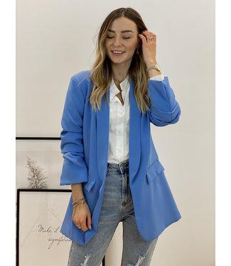 Classic blazer - kobalt blue
