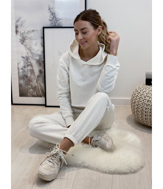 Tracksuit set - white