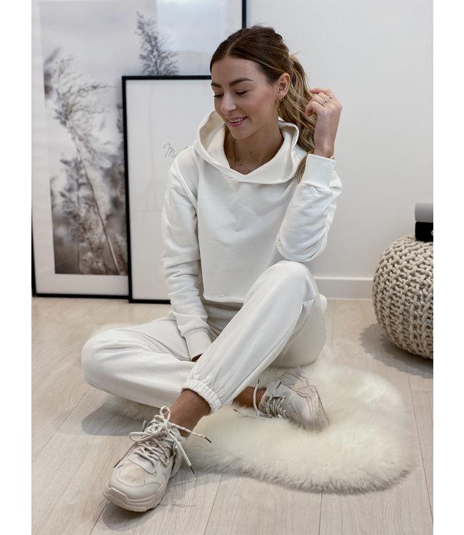 Tracksuit set - white