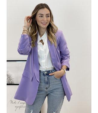 Classic blazer - lila