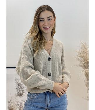 She's Milano x gilet beige