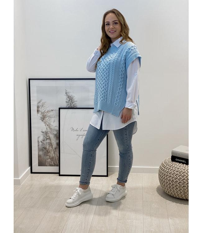 Spencer blouse - blue