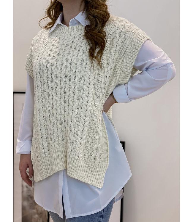 Spencer blouse - ecru