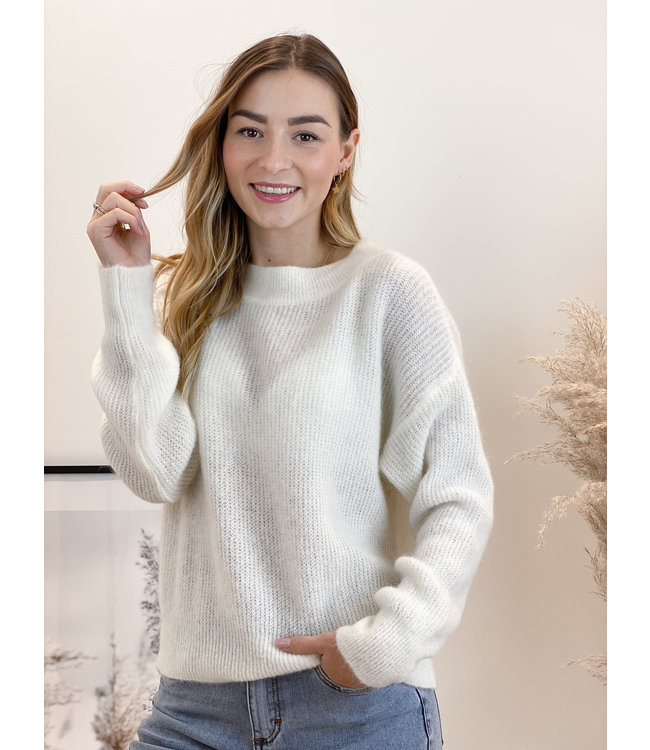 She's Milano x sweetheart round white