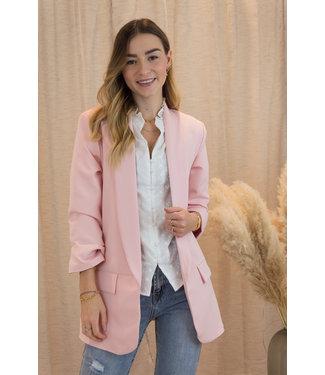 Classic blazer - baby pink