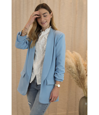 Classic blazer - sky blue