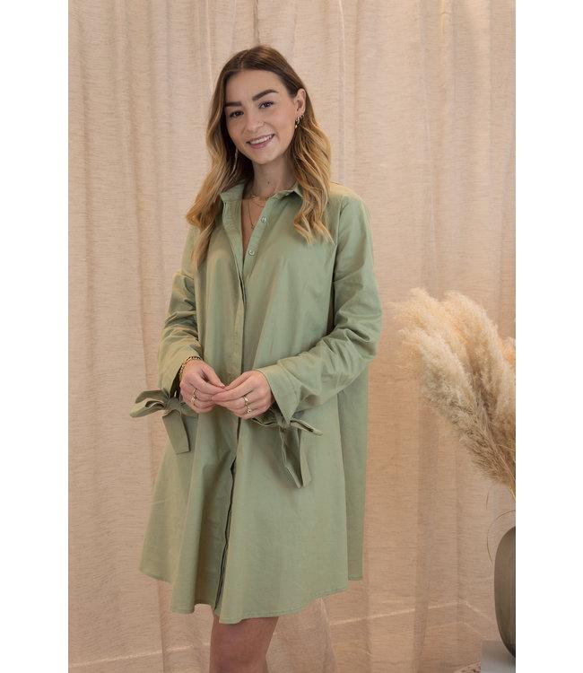 Daphne dress - spring green