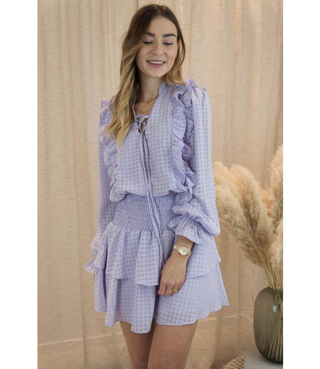 Anna blouse - lila