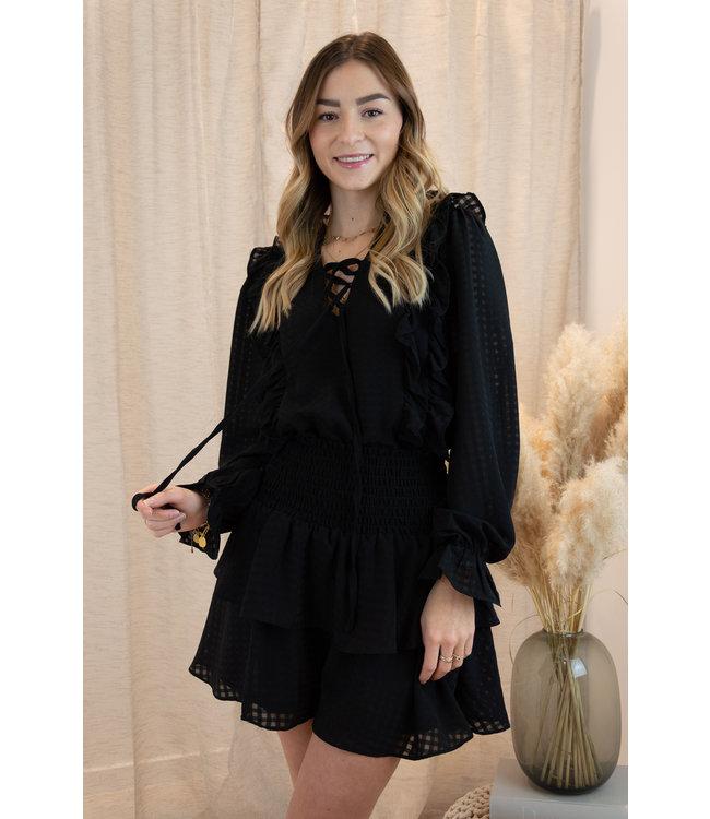 Anna blouse - black