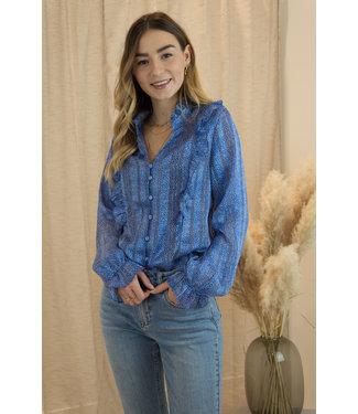 Esmée blouse - blue