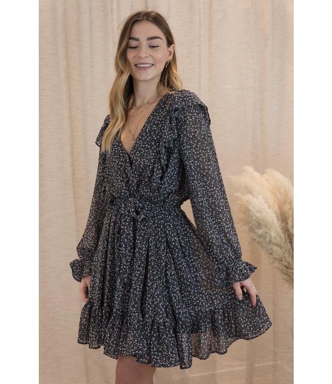 Amalia dress - dark blue