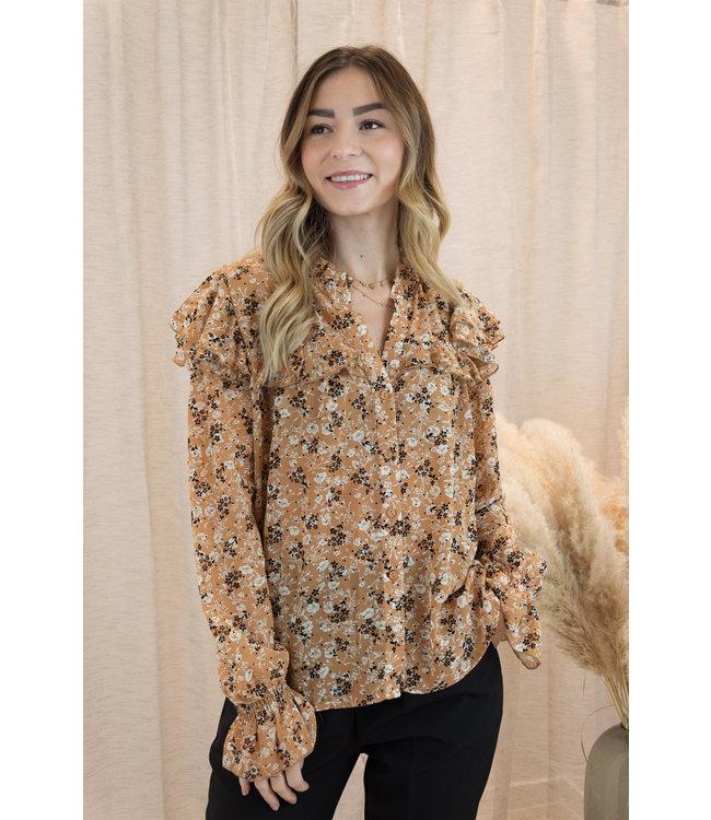 Amy blouse - oker
