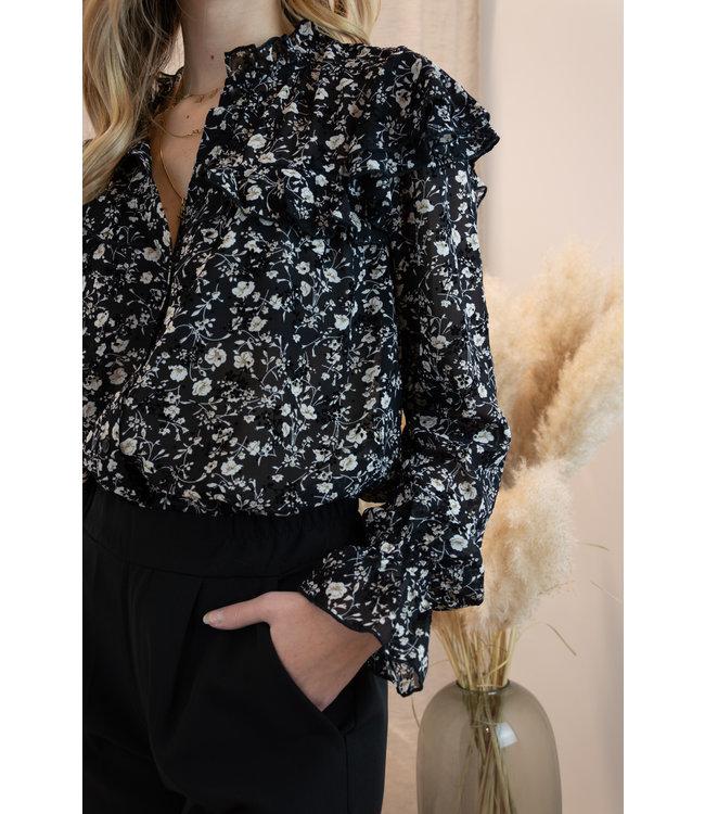 Amy blouse - black