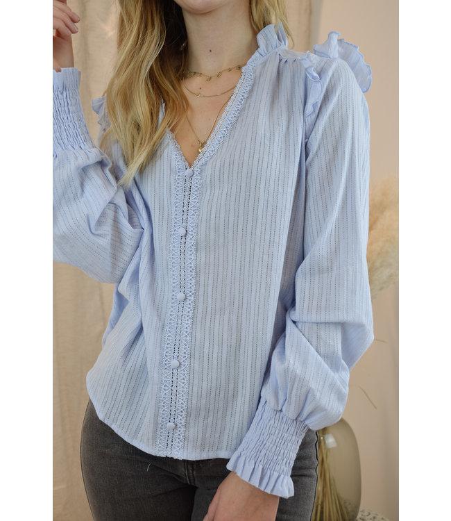 Kiki blouse - blue