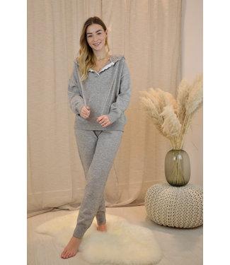 Chloé lace jogging - grey