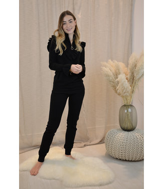 Cute lounge wear - black