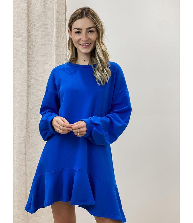 Layla dress - kobalt
