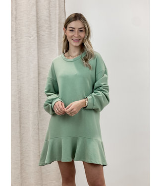 Layla dress - spring green