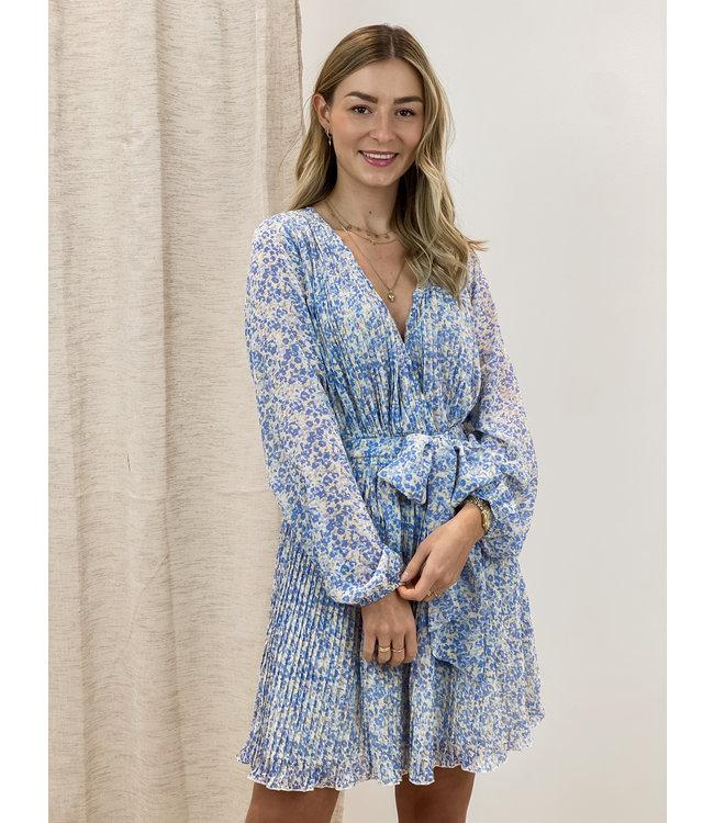 Bella dress - blue