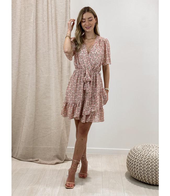 Mima flower dress - pink