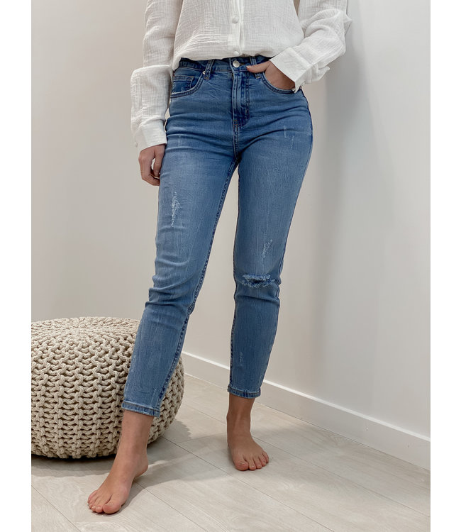 Skinny jeans - denim blue