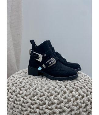 Whole boots - black