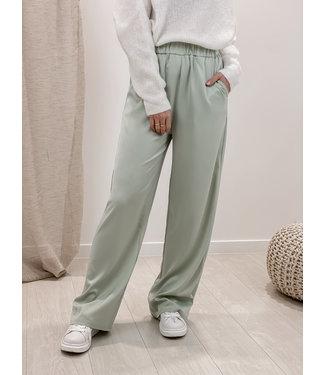 Silk stella trouser - mint