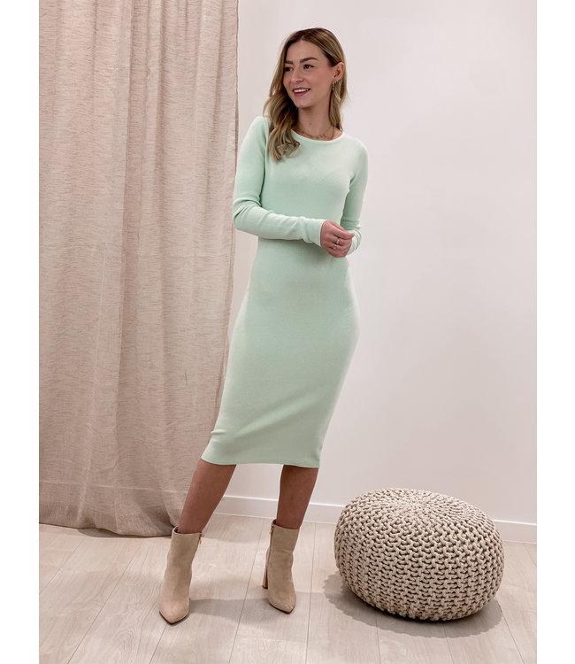 Basic silhouette dress - mint