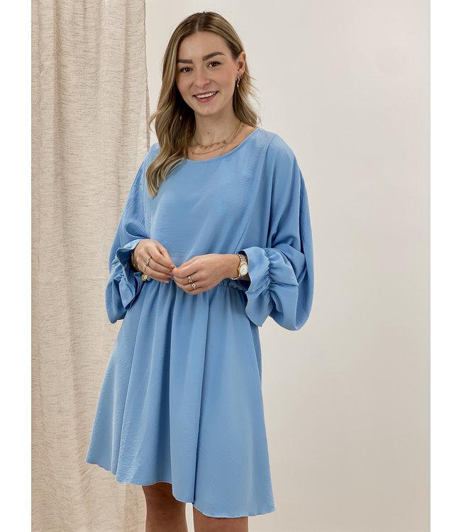 Poppy dress - sky blue