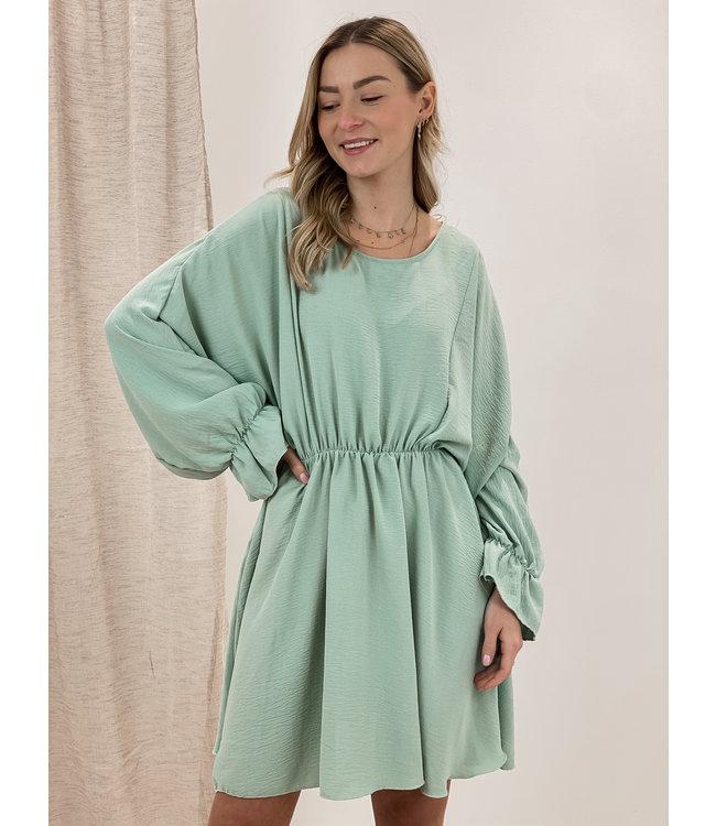 Poppy dress - mint