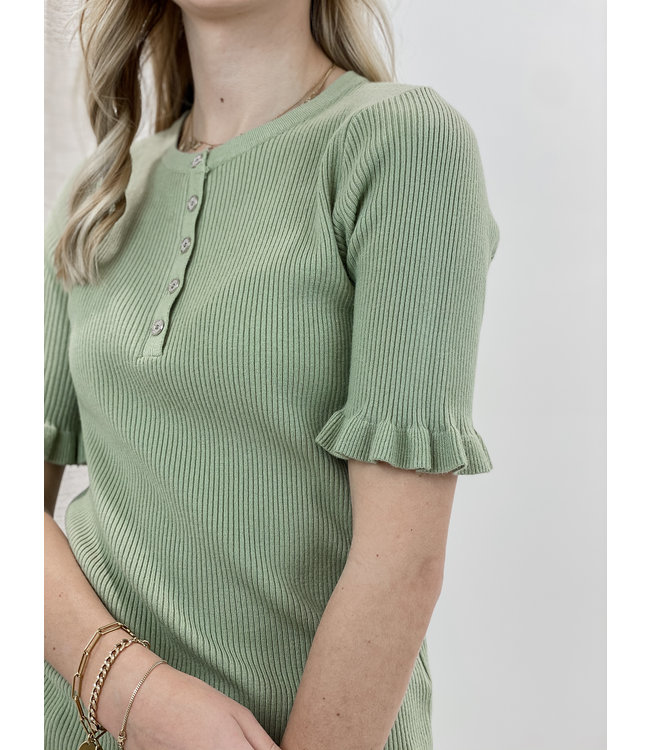 Mila shirt - mint