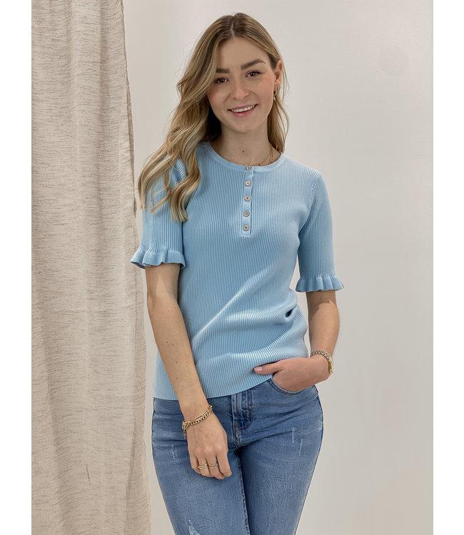 Mila shirt - babyblue