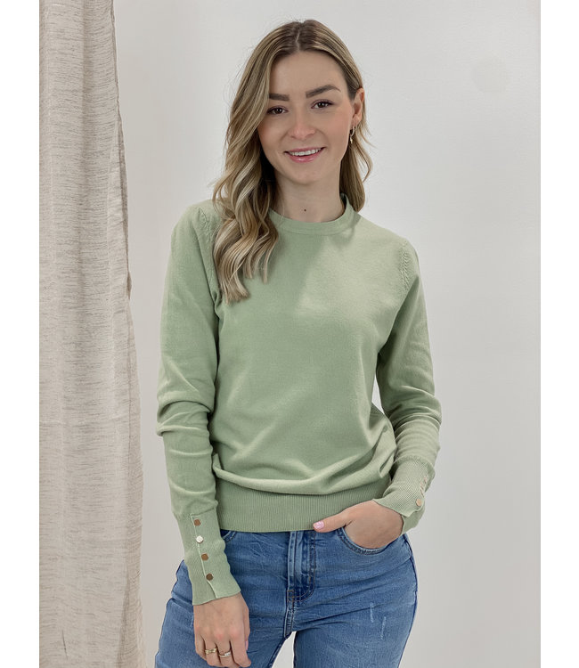 Basic shirt long sleeves - mint