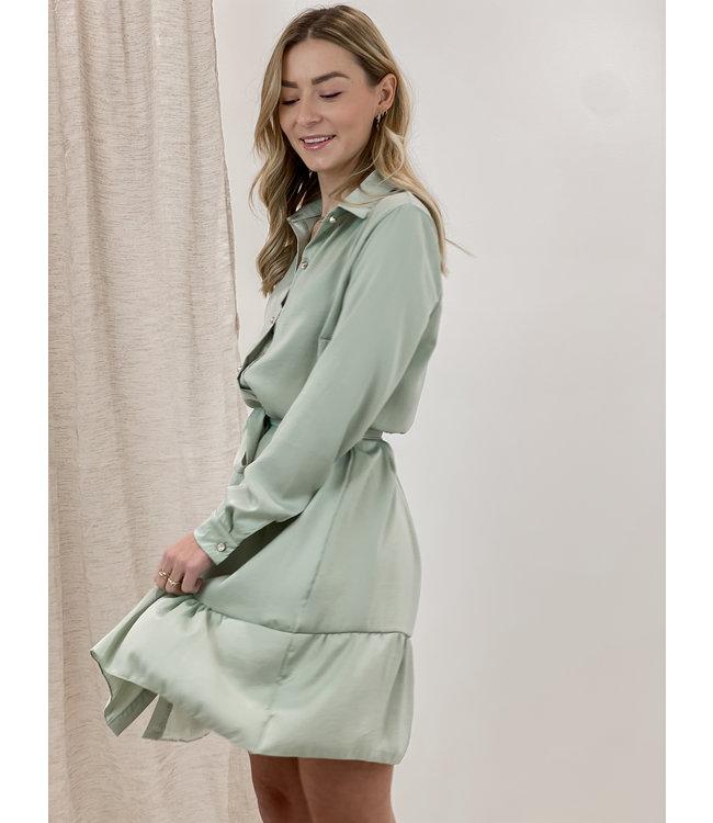 Cecilia dress short - mint