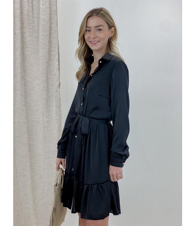 Cecilia dress short - black