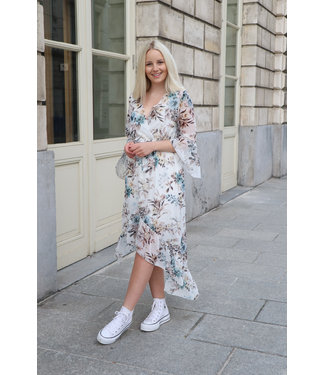 Azalea dress - white
