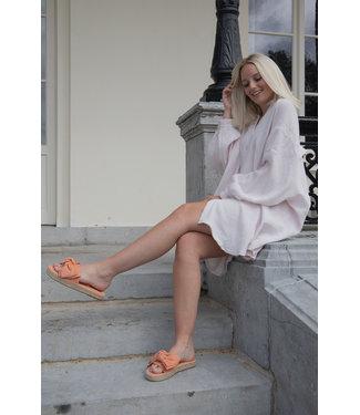 Tetra chemise dress - rose nude