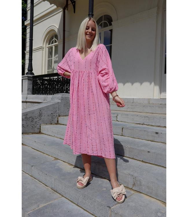 Isa multicolor - pink