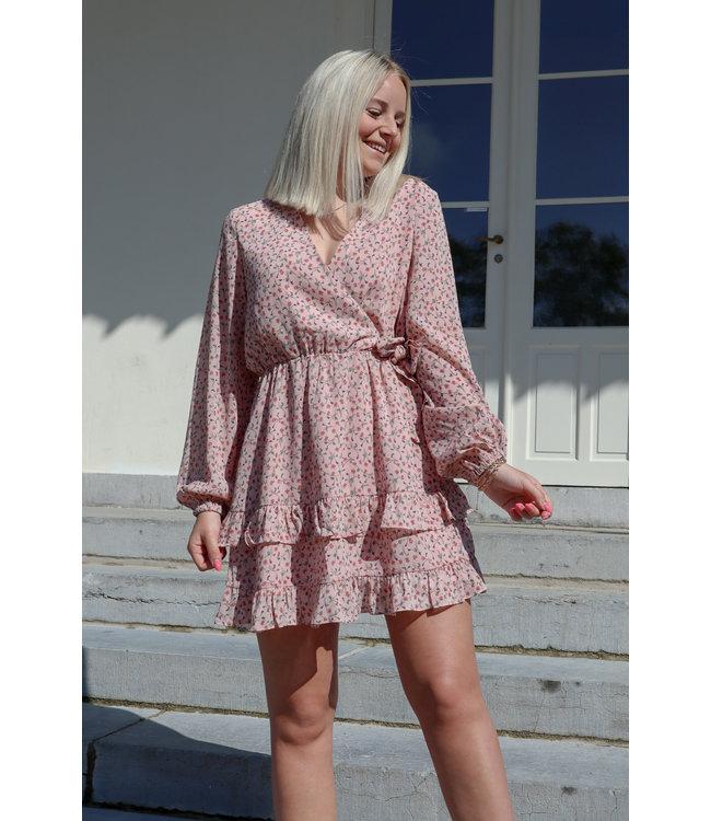 Lala flower dress - pink