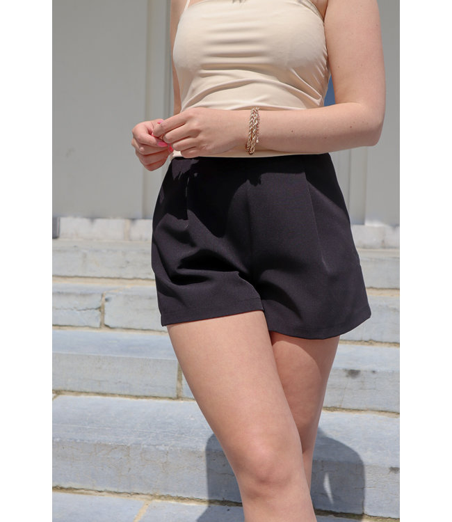 Isa suit short - black
