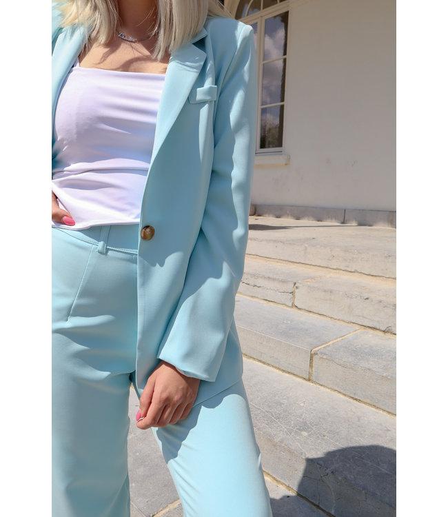 Isa suit blazer - blue