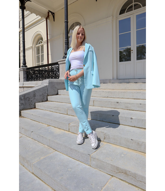 Isa suit SKINNY trouser - blue