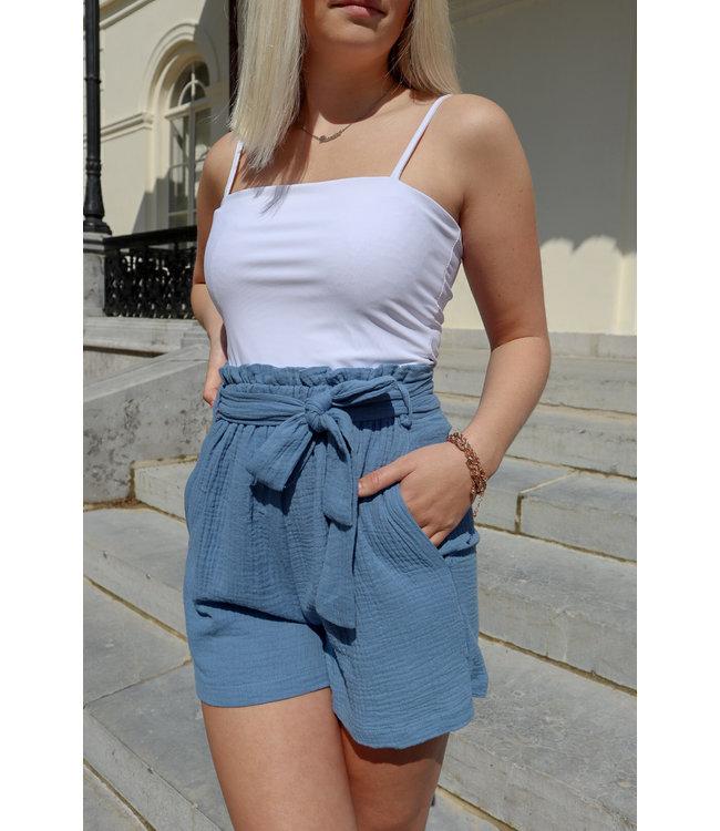 Tetra short - blue