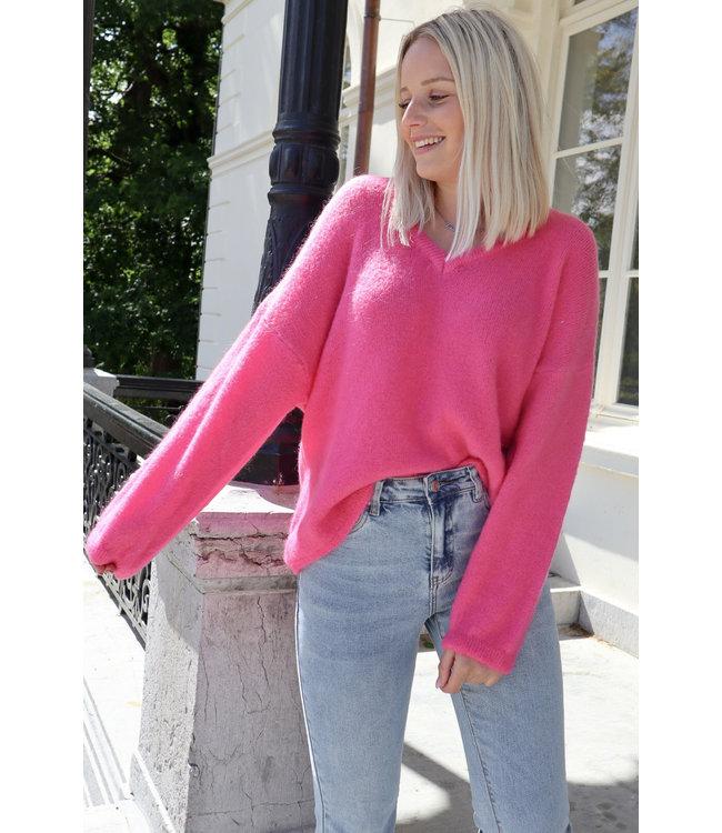 She's Milano x fine knitted - fuscia