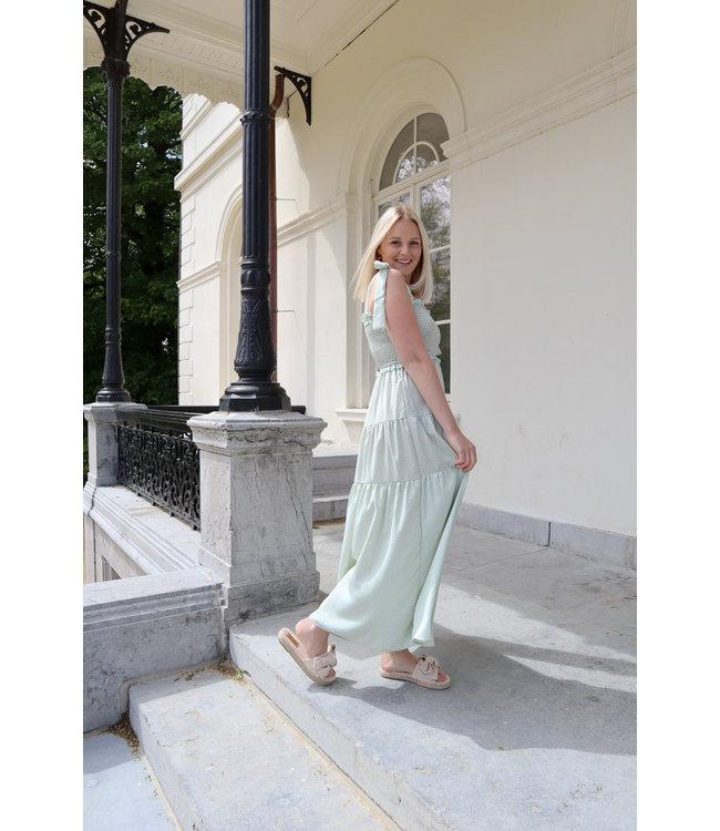 Dreamy bow dress - mint