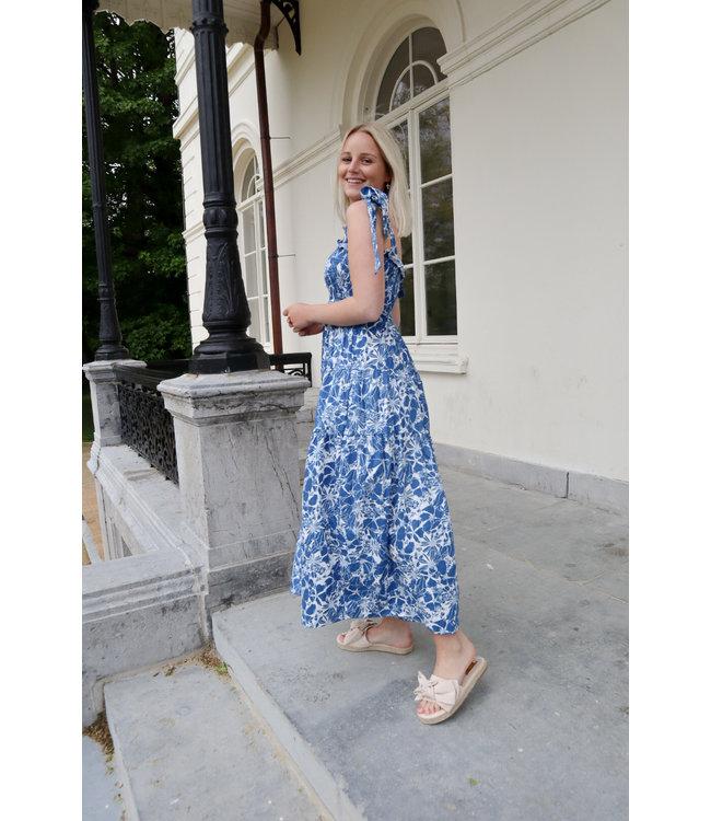 Dreamy flower dress - blue