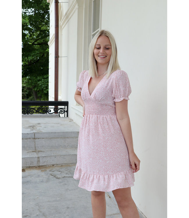 Floral dreamy dress - pink